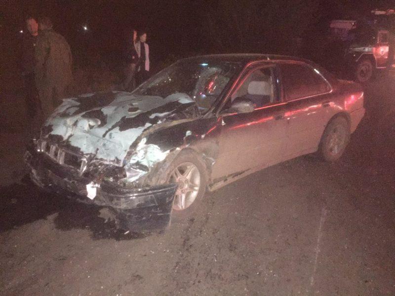 На Николаевщине «Славута» выезжая с заправки попала в ДТП, водитель погиб