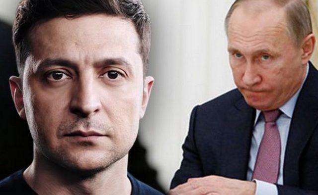 Путин во время прямой линии резко высказался о Зеленском