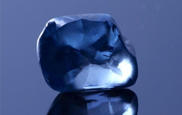 В Ботсване нашли редчайший синий алмаз