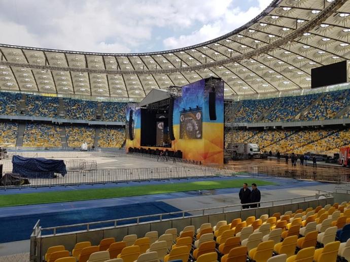 """Стадион """"Олимпийский"""" готов к дебатам"""