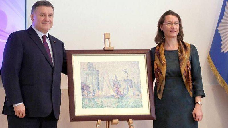 МВД Украины вернет Франции похищенный из музея шедевр стоимостью $1,5 млн.