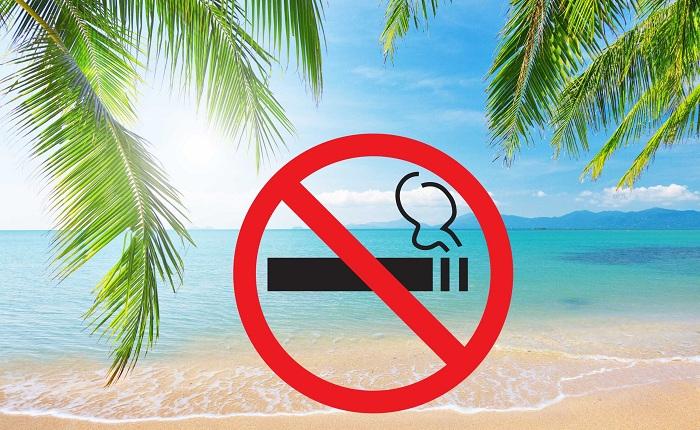 На пляжах Коблево собираются ввести запрет на курение