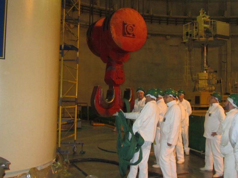 На Южно-Украинской АЭС провели испытания перегрузочного контейнера Нolteс