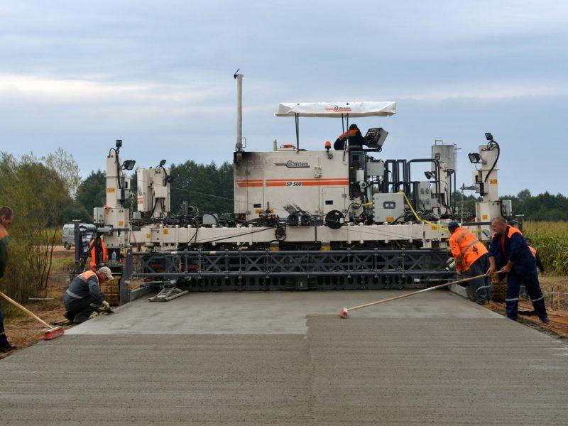 Предприятие из Кривого Рога будет строить бетонные дороги из шлаковых отходов