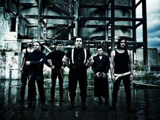 Группа Rammstein использовала в своем клипе видео из Херсона