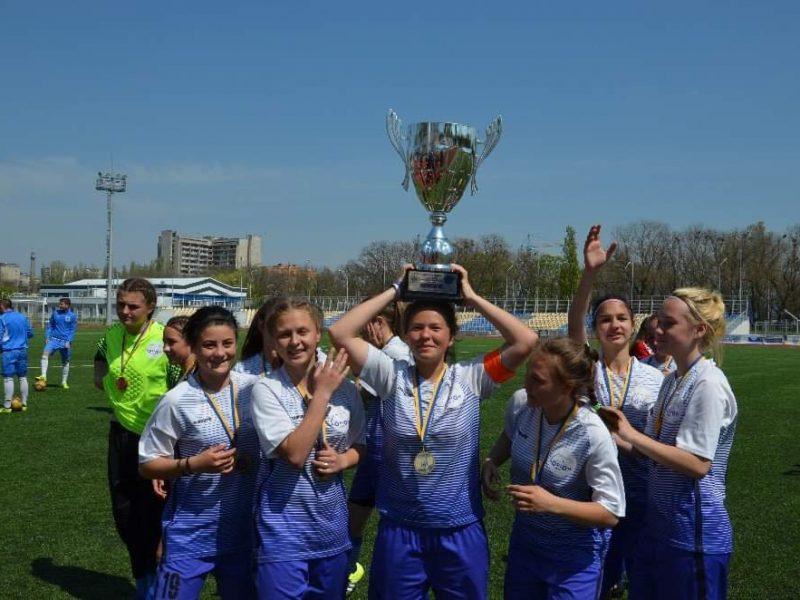 Девичья сборная Николаевской области – чемпион Высшей лиги Украины WU-16