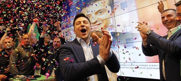 Избрание Зеленского президентом: как отреагировал шоу-бизнес