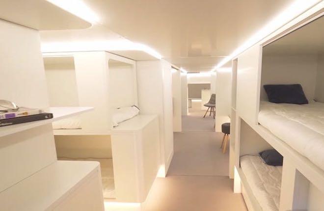 В Airbus намерены продавать пассажирам VIP-места в багажном отсеке