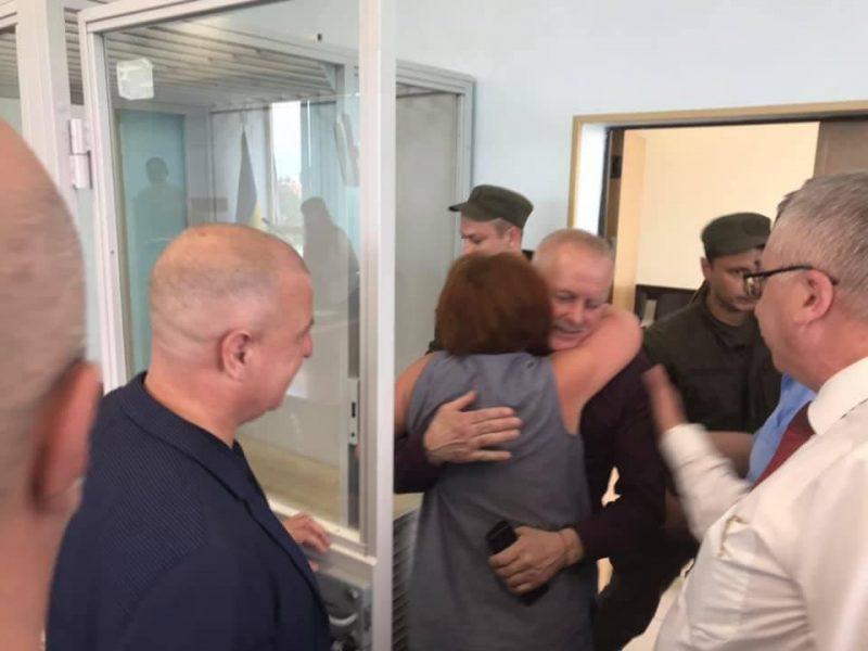 Бывшего начальника Генштаба ВСУ Владимира Заману, подозреваемого в госизмене, освободили из-под стражи (ФОТО)