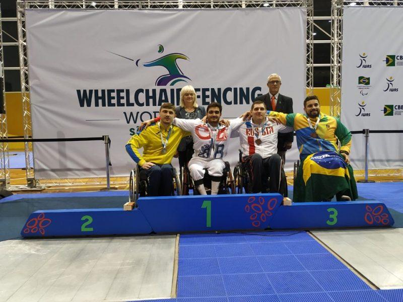 Николаевские спортсмены завоевали 2 награды на стартовавшем в Бразилии Кубке мира по фехтованию на колясках (ФОТО)