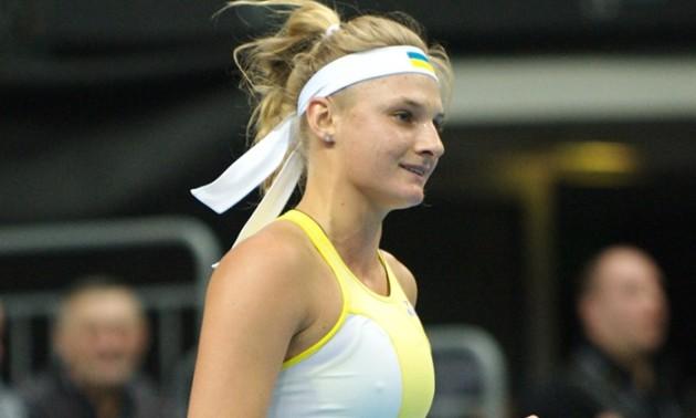 Украинка Ястремская на пути к финалу турнира по теннису в Страсбурге одолела 11-ю ракетку мира (ВИДЕО)