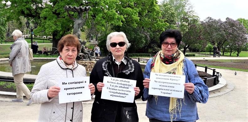«Чей Крым?»: латвийских кандидатов в ЕП попросили пройти «тест» (ФОТО)