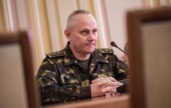 Хомчак назначен начальником Генштаба ВСУ вместо Муженко