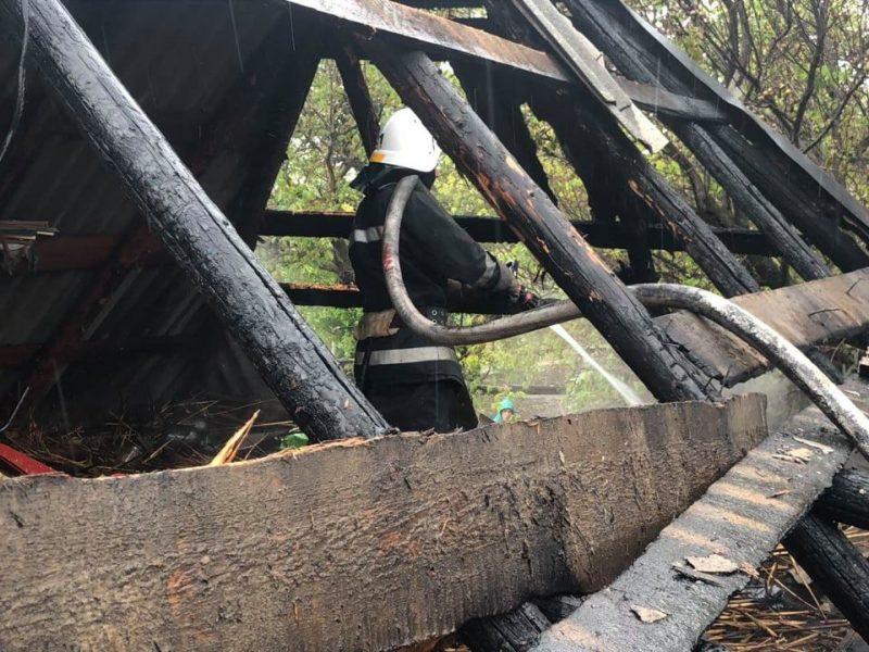 За минувшие сутки спасатели Николаевщины дважды тушили пожары в частном секторе (ФОТО)