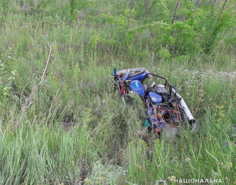 На Николаевщине в результате ДТП погиб 50-летний мотоциклист (ФОТО)
