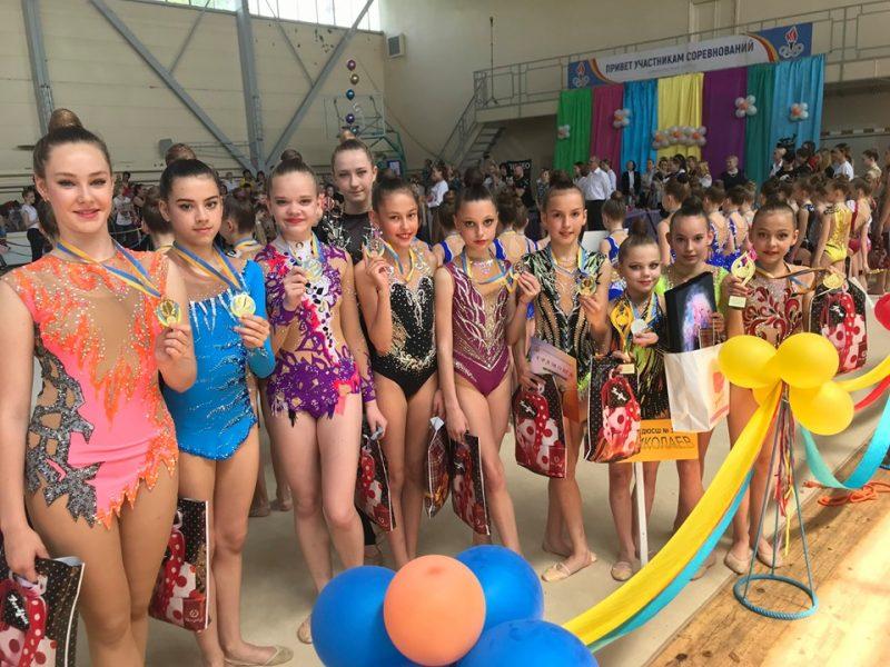 Николаевские спортсменки одержали победу на Международном турнире по художественной гимнастике (ФОТО)