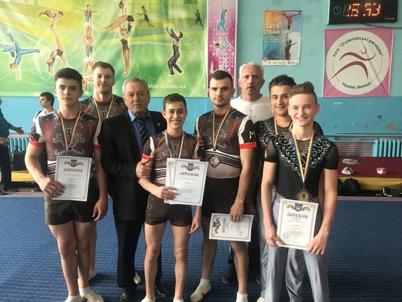 Воспитанники николаевской ДЮСШ стали призерами Чемпионата Украины по спортивной акробатике (ФОТО)