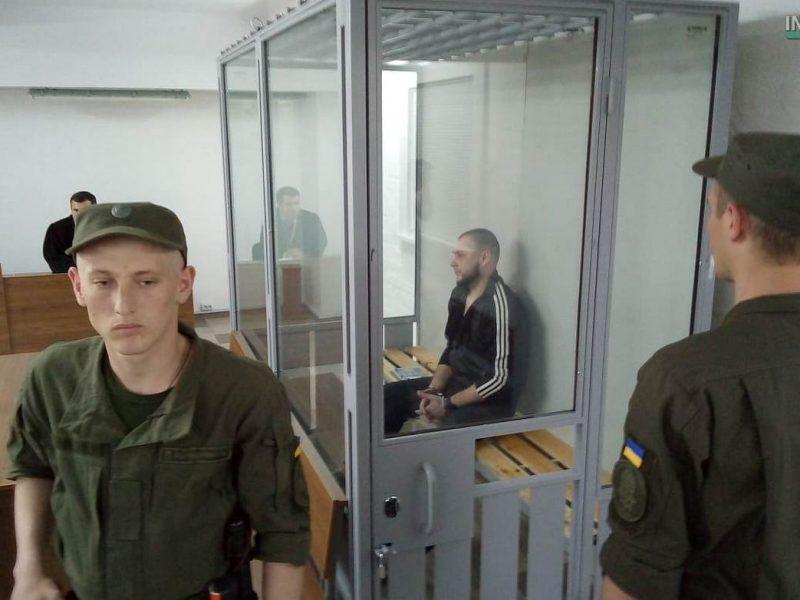 Убийцу Оксаны Макар Евгения Краснощека этапировали в Николаев – сегодня суд начал пересматривать приговор (ОБНОВЛЕНО) (ВИДЕО и ФОТО)