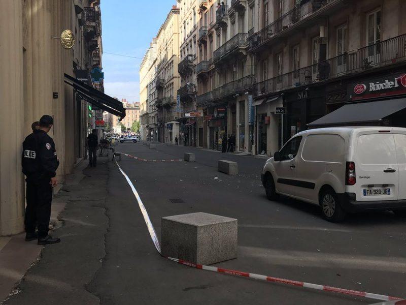 В центре французского Лиона произошел взрыв, есть раненые (ФОТО)