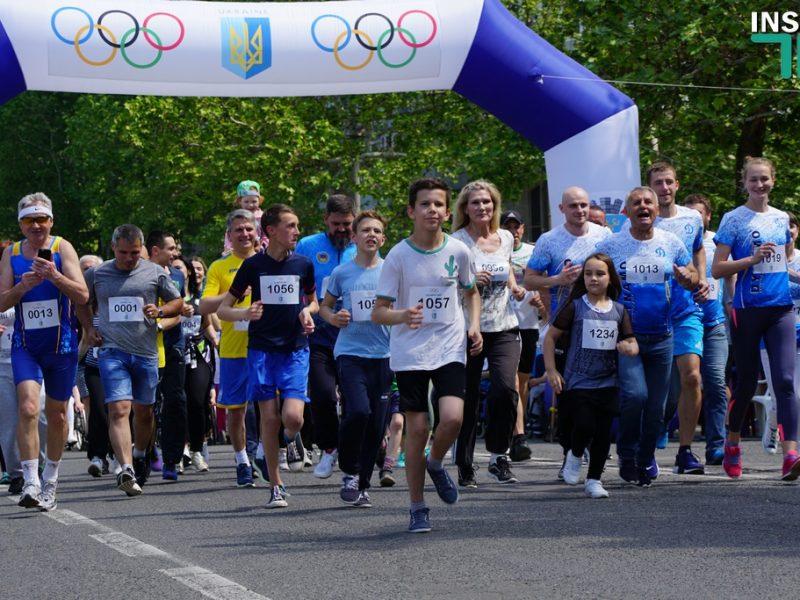 Сотни жителей Николаева отметили Олимпийский день бега (ФОТО, ВИДЕО)