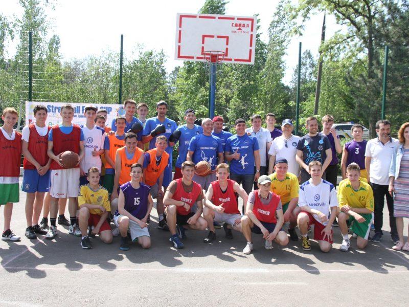 Streetball Euro Cup: в Николаеве сразились за звание самой сильной школьной команды по уличному баскетболу (ФОТО)
