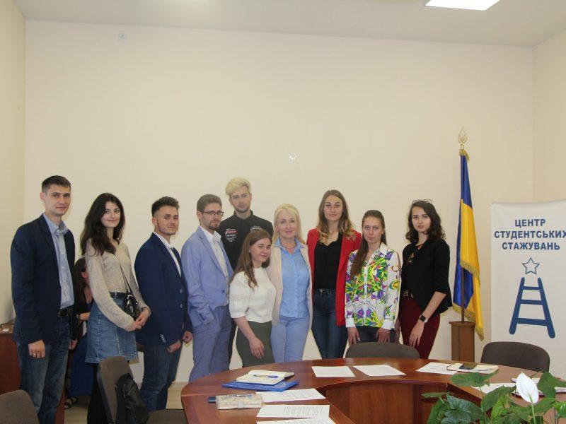 Стартовали студенческие стажировки при постоянных депутатских комиссиях Николаевского горсовета (ФОТО)
