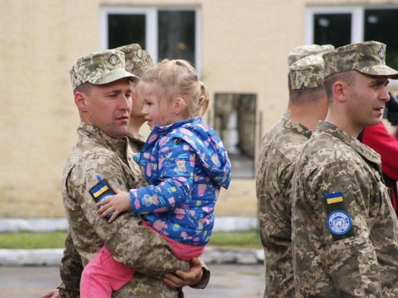 Украинские миротворцы десятой ротации улетели в Конго (ФОТО)