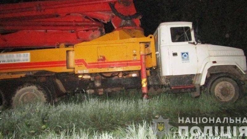 В Борисполе уволенный водитель угнал КРАЗ в качестве «компенсации» за невыплаченную зарплату