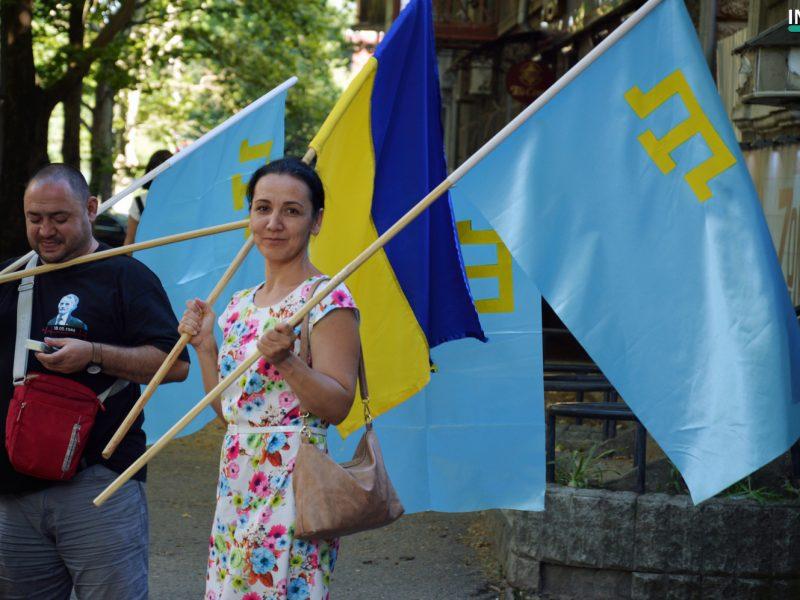 Николаевцы присоединились к празднованию Дня крымскотатарского флага: «Духом мы намного сильнее оккупантов» (ФОТО, ВИДЕО)