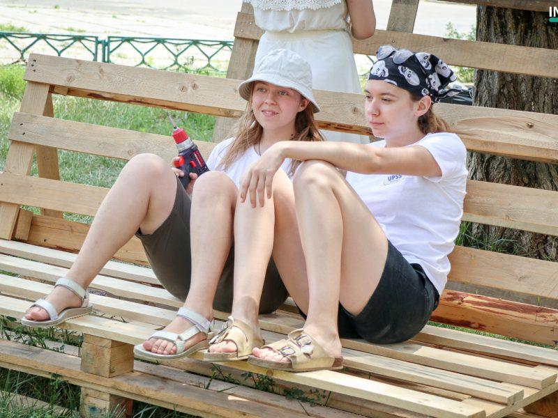 Вы мечтали о месте на свежем воздухе? Студенты УАЛ создали в Николаеве пространство для отдыха «Гамак» (ФОТО)