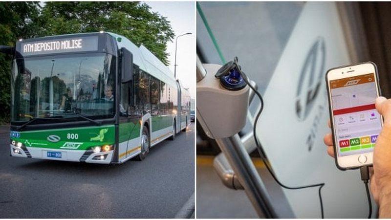 В итальянском Милане начнут курсировать троллейбусы, в которых можно подзарядить смартфон (ФОТО)