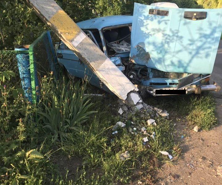 После ДТП в Первомайском районе в больнице оказались и водитель, и пассажир (ФОТО)