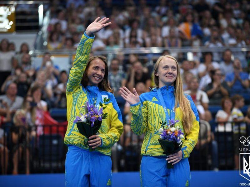 Николаевская спортсменка в паре с киевлянкой стали серебряными призерами ІІ Европейских игр (ФОТО)