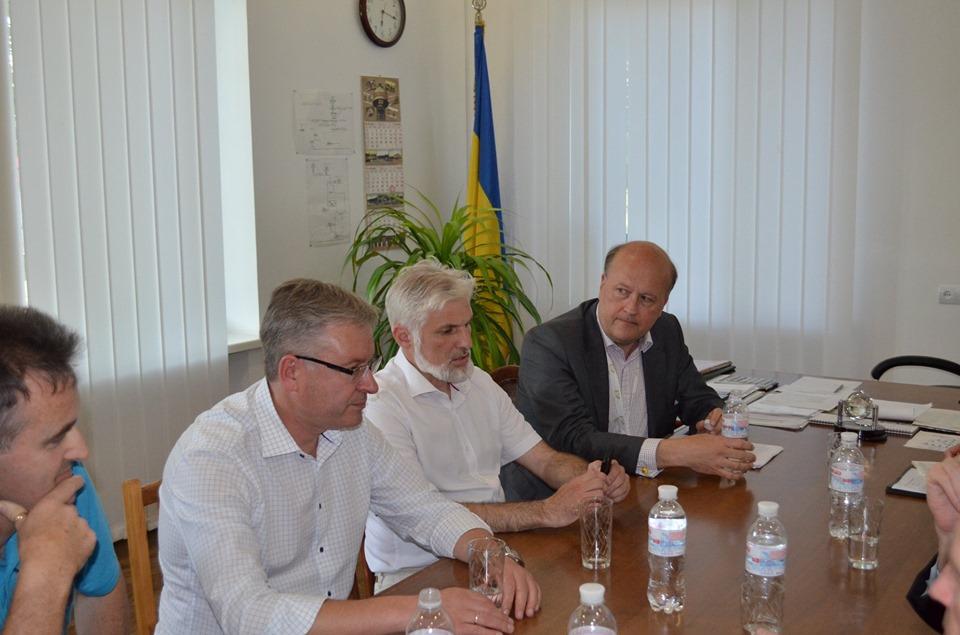 Делегация Представительства ЕС побывала на «Николаевводоканале» и осталась довольна увиденным (ФОТО) 3