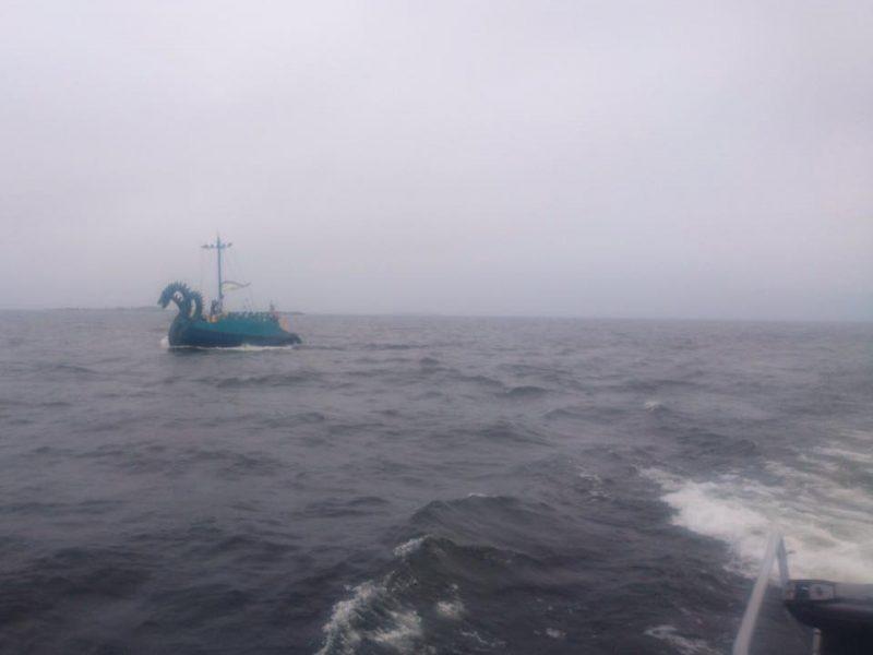 Береговая охрана Финляндии встретилась с трехголовым монстром – это оказалась российская яхта (ФОТО)