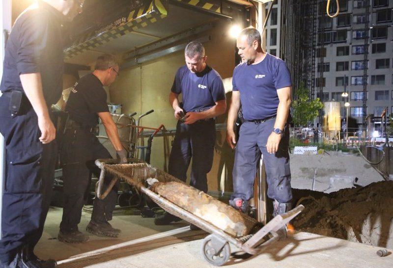 В центре Берлина обезвредили 100-килограммовую авиабомбу  (ФОТО)