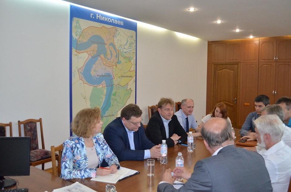 Делегация Представительства ЕС побывала на «Николаевводоканале» и осталась довольна увиденным (ФОТО) 5