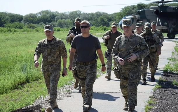 Делегация СНБО посетила Донбасс