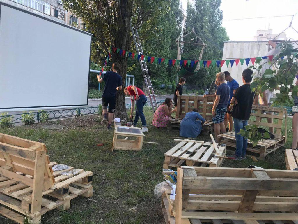 Вы мечтали о месте на свежем воздухе? Студенты УАЛ создали в Николаеве пространство для отдыха «Гамак» (ФОТО) 61