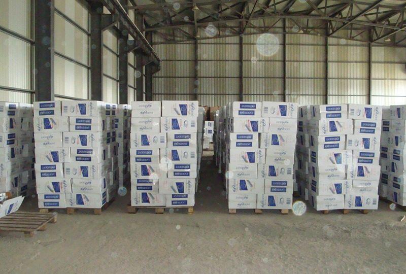 Николаевская таможня обнаружила 450 тонн контрабандных сигарет (ФОТО)