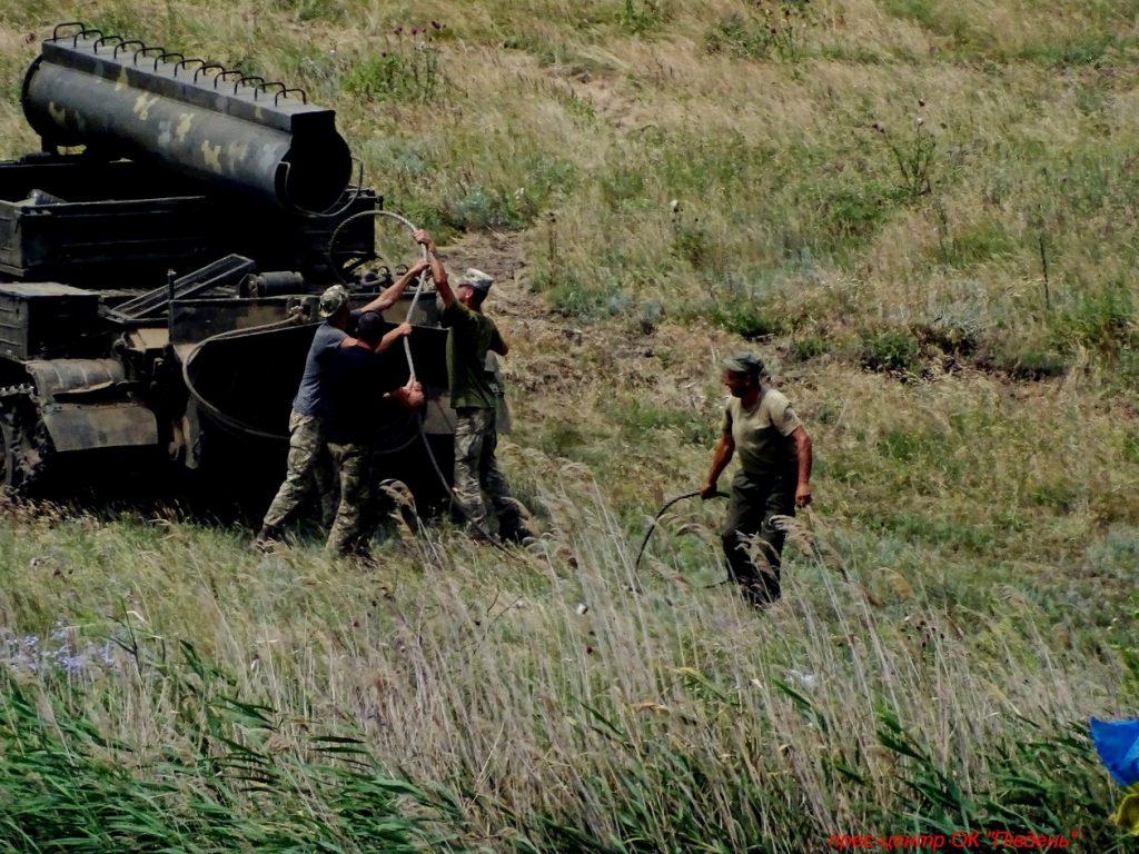 Под Николаевом прошли учения мотострелков (ФОТО) 25