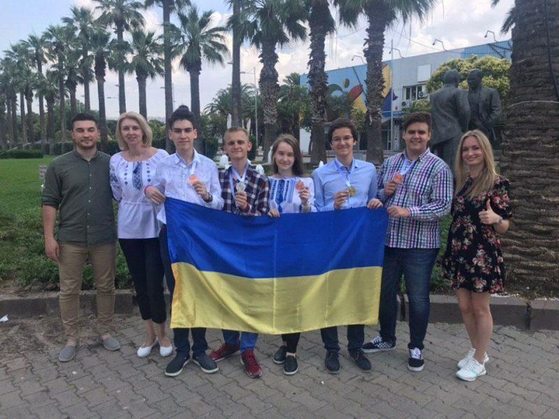 Юные николаевские ученые вернулись с наградами с научного конкурса в Турции (ФОТО)