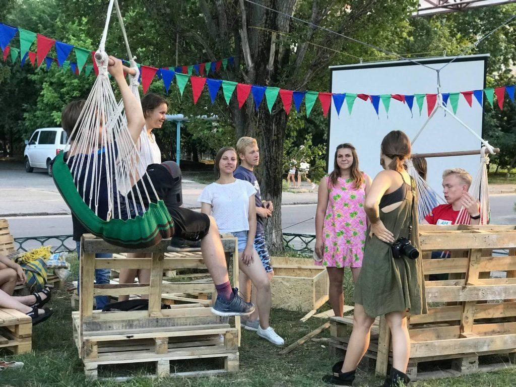 Вы мечтали о месте на свежем воздухе? Студенты УАЛ создали в Николаеве пространство для отдыха «Гамак» (ФОТО) 65