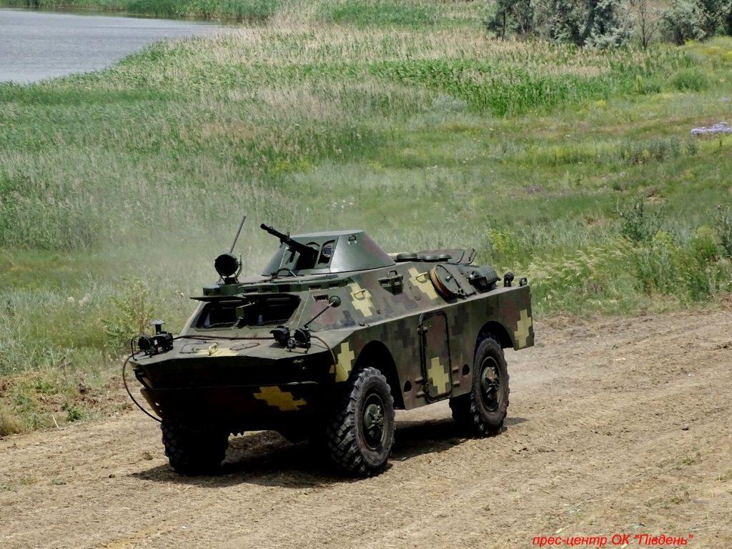 Под Николаевом прошли учения мотострелков (ФОТО) 3