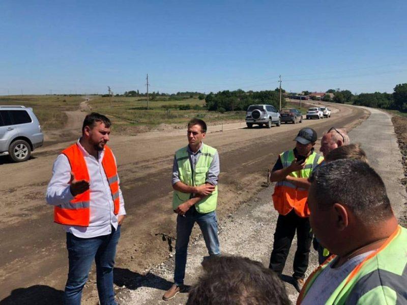 На Николаевщине проходит ремонт трассы Н-14 (ФОТО)