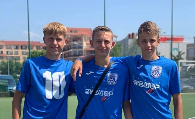 Юные николаевские футболисты завоевали три медали на Международном турнире в Болгарии (ФОТО)