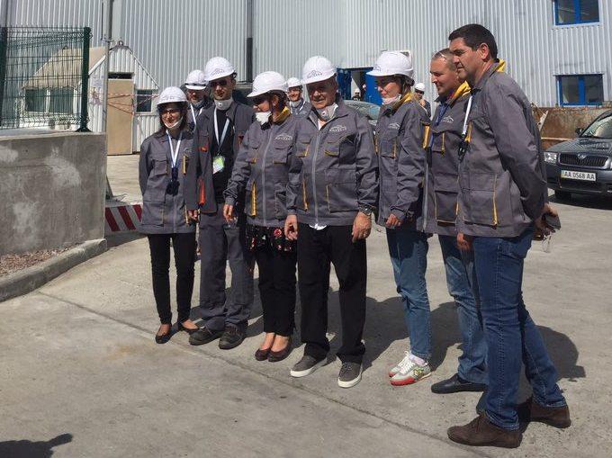 Чернобыльскую АЭС посетил министр иностранных дел Франции (ФОТО)