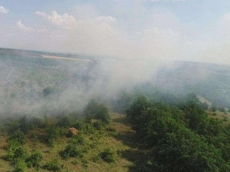 Горим! Неосторожность и умышленный поджог – причины масштабных пожаров на Николаевщине (ФОТО)