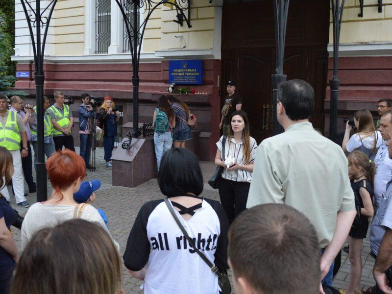"""""""Безнаказанность убивает"""": Николаев присоединился к акции в память о мальчике, которого подстрелили полицейские (ВИДЕО, ФОТО)"""