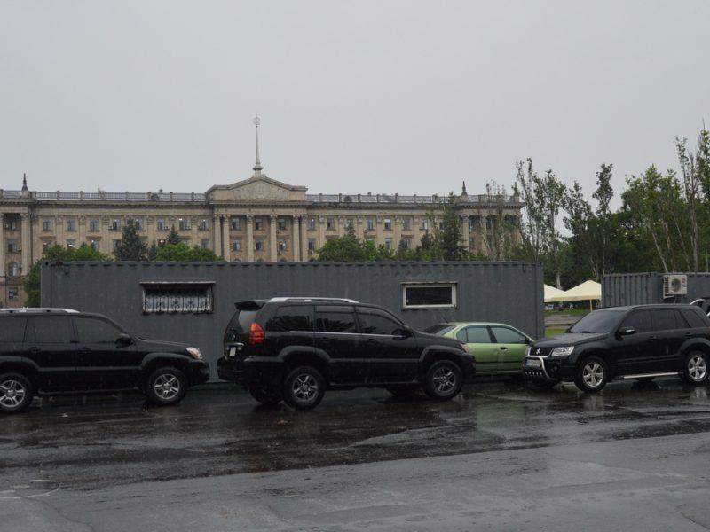 В Николаеве началась реконструкция Соборной площади (ФОТО, ВИДЕО)